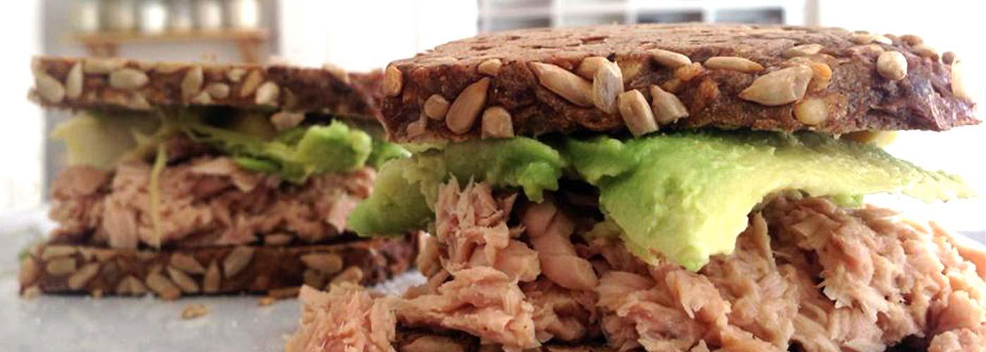 Das Thunfisch-Avocado-Sandwich