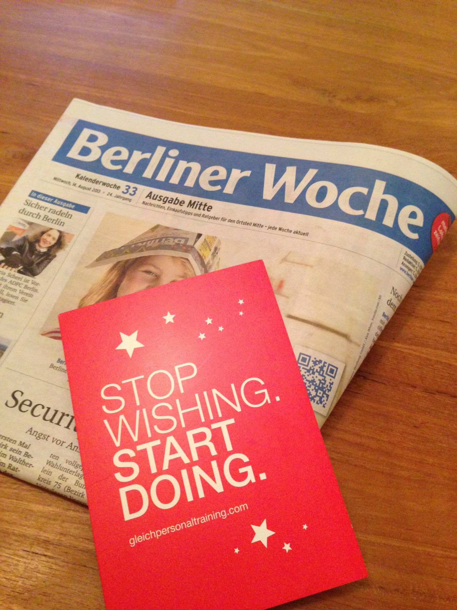 Gleich Personal Training in der Berliner Woche