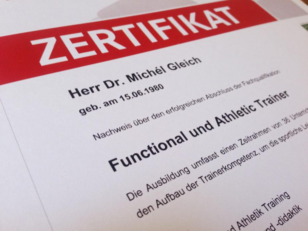 Jetzt neu: Functional und Athletic Training