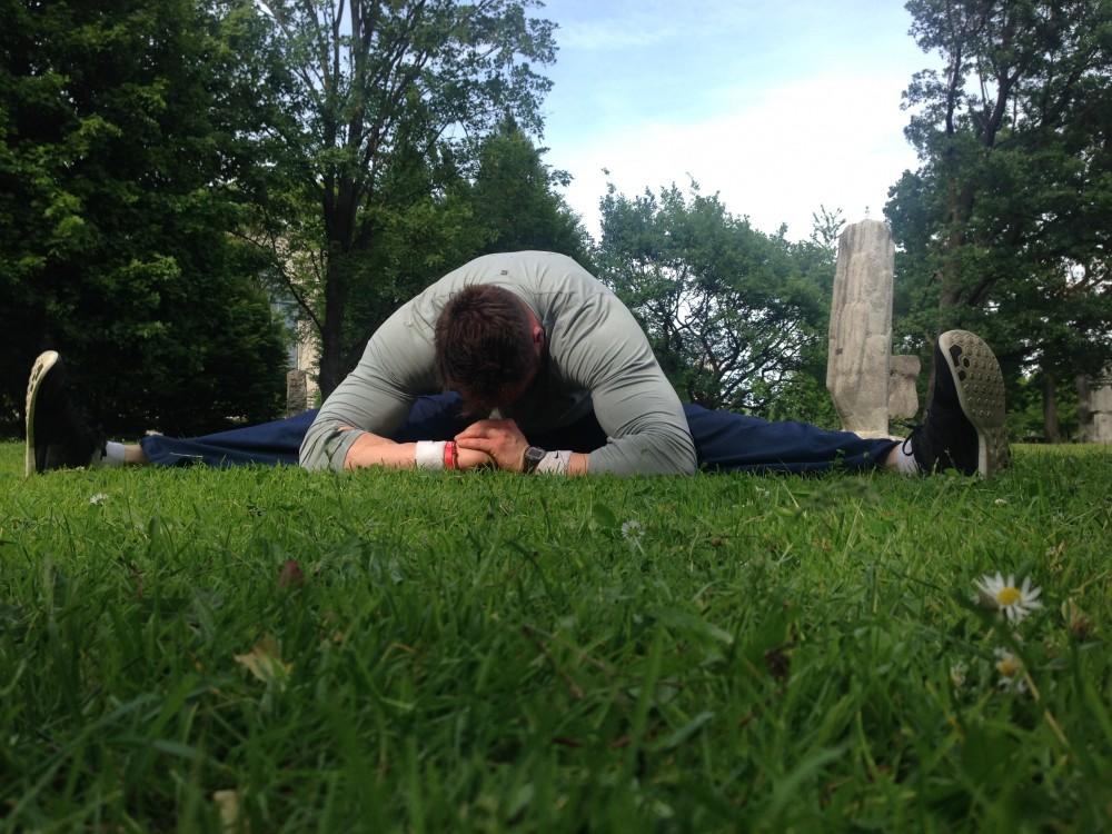 Outdoor-Training (3): V-Dehnung