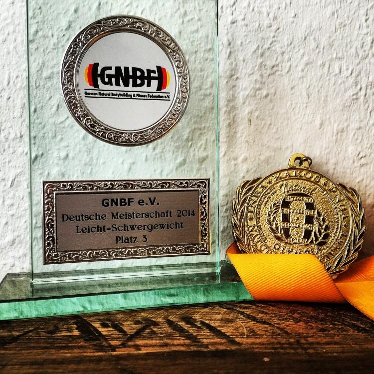 Bronzemedaille!!! Großer Erfolg für Michèl bei den Deutschen Meisterschaften 2014!