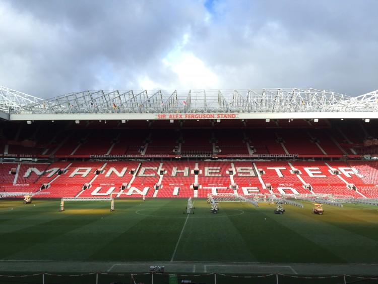 Michèl besucht den englischen Spitzenklub Manchester United