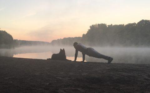 Training in der Natur
