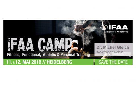 Michèl als Gastdozent beim IFAA Camp 2019