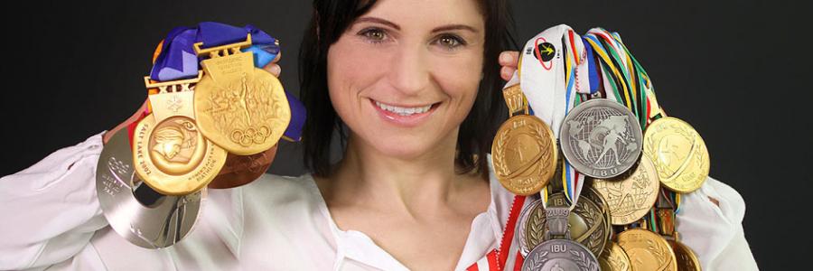 Winter-Interview: Heute mit Olympiasiegerin Andrea Henkel